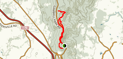 Gambrill State Park Loop Map