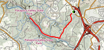 Soapstone Trail to Grist Mill Trail  Map