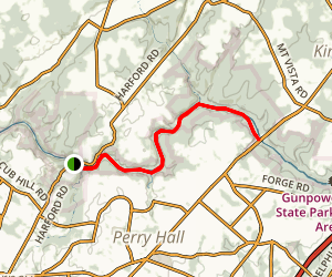Lower Gunpowder Falls Map