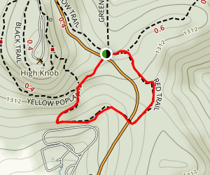 Red Trail Map