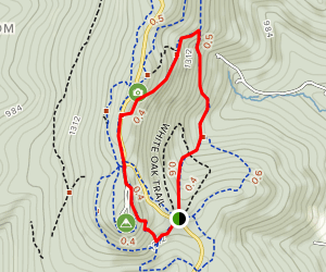 Green Ash Trail Map
