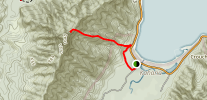 Pu'upiei Trail Map