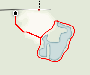 Bunns Lake Loop Map