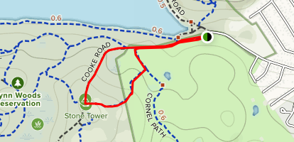 Stone Tower Loop Map