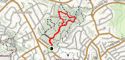 Whipple Hill and Locke Farm Map