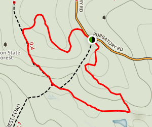 Purgatory Chasm Trail Map