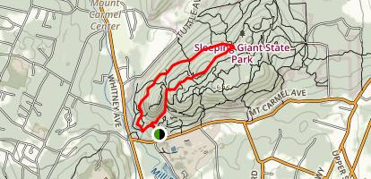 Blue Trail Loop Map