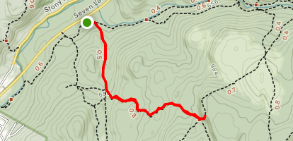 Reeve's Brook Trail Map