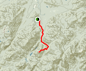 Mount Colden via the Trapdike Map