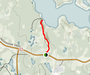 Holdout Trail Map