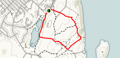 Tin Can Hill Loop Map