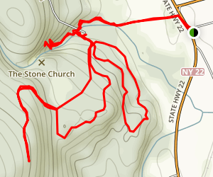 Dover Stone Church Map
