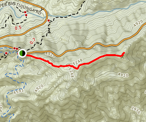 Mount Sally Trail Map