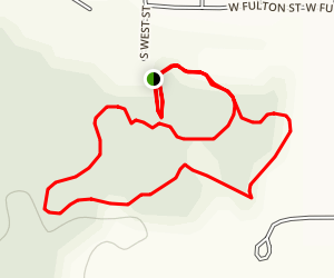 Wilderness Park Nature/Fitness Trail Map