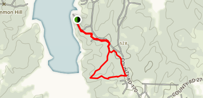Quail Run Trail Map