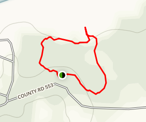 Water Valley Landing Trail Map