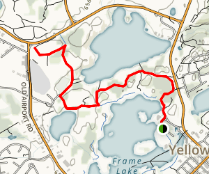Frame Lake Connector Map
