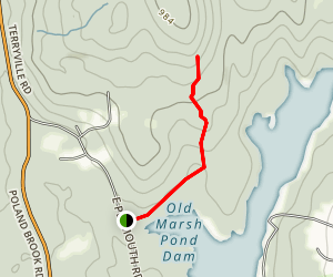 Mile of Ledges Trail Map