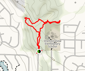Shelton View Forest Map