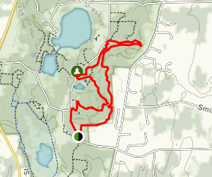East Esker Trail Map