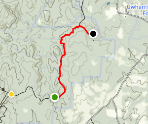 Uwharrie/Dutchman's Creek Trail Loop Map