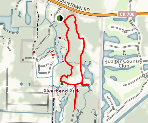 The Loxahatchee River Trail Map