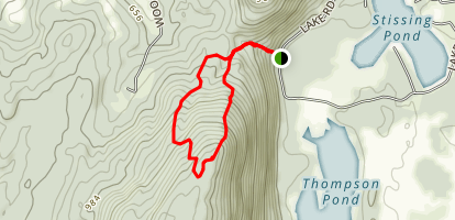 Stissing Mountain Trail Map