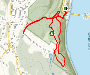 Yellow Trail and White Trail Loop Map