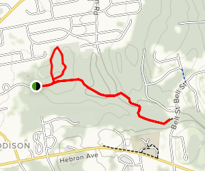 Bell-Hebron Linear Park Loop Map