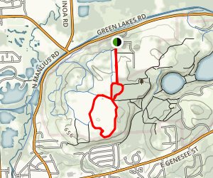Rolling Hills and Vista Trail Loop Map