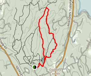 Troop 7 Trail to Godfrey Trail Loop Map