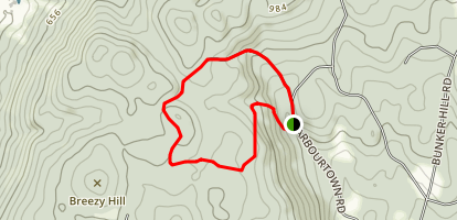 Barbour Woods and Breezy Hill Loop Map