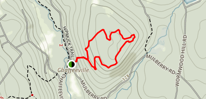 Coney Rock Loop Map