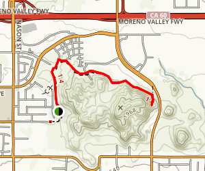 Cold Creek Trail Map