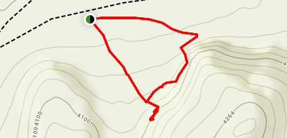 Hidden Cave Trail Map