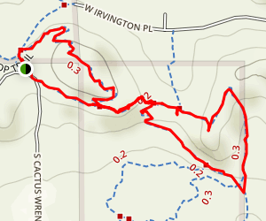 Rocky 13 Trail & Creosote Loop Map