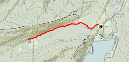 Fishhook Lake Trail Map