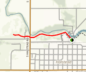 Little Arkansas River Trail Map