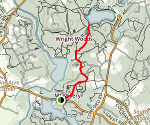 Bay Circuit Trail to Walden Pond Map
