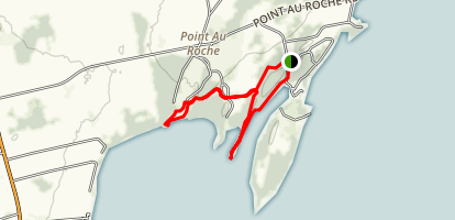 Rams Head, Middle Point and the Bluff Loop Map