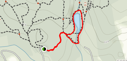 Godfrey Pond Loop Map