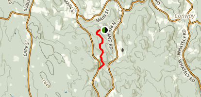 Two Bridges and Chapel Falls Trail Map