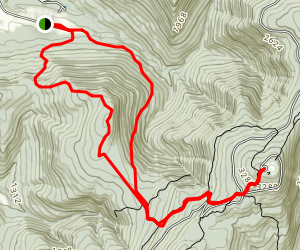 Mount Greylock and Stony Ledge via Hopper Trail and Haley Farm Trail Map