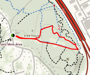 Scout Trail, Extra Credit, and Powerline Loop Map