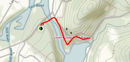 Lover's Leap Trail Map