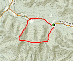 North Dome and Sherill Bushwhack  Map