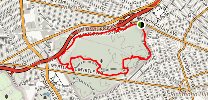 Forest Park Loop Map