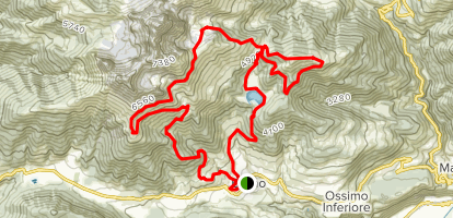 San Fermo Trail Map