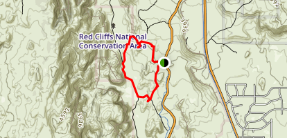Butterfly, Lava Flow Overlook, West Canyon Road and Petrified Dunes Loop Map