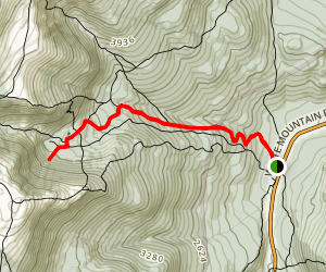 Tuckerman Ravine Trail to Hillman's Highway Trail Map